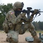 veterans day 2018, ARMY m4a1 carbine small arms range test