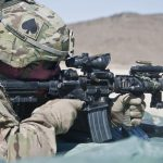 ARMY m4a1 carbine range test