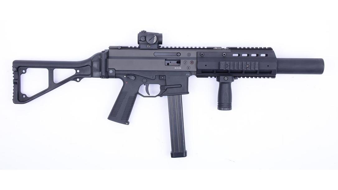 B&T APC45 SD APC9 SD carbine right profile