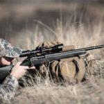 Bergara B14 Ridge Rifle aiming