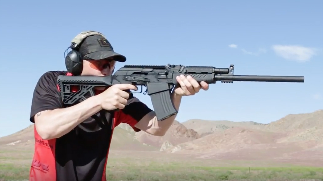 legacy sports citadel rs-s1 shotgun test