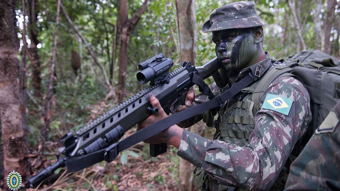 imbel ia2 rifle jungle exercise
