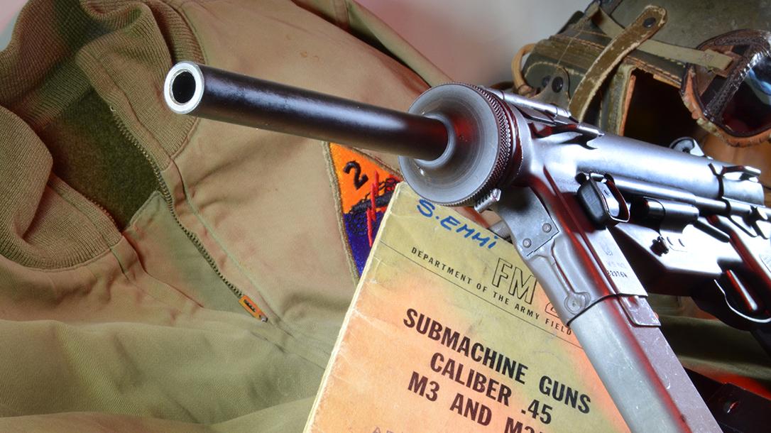 m3 m3a1 grease gun barrel