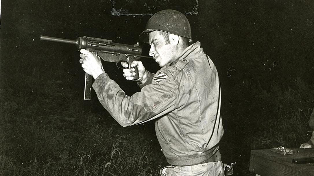 m3 m3a1 grease gun us soldier