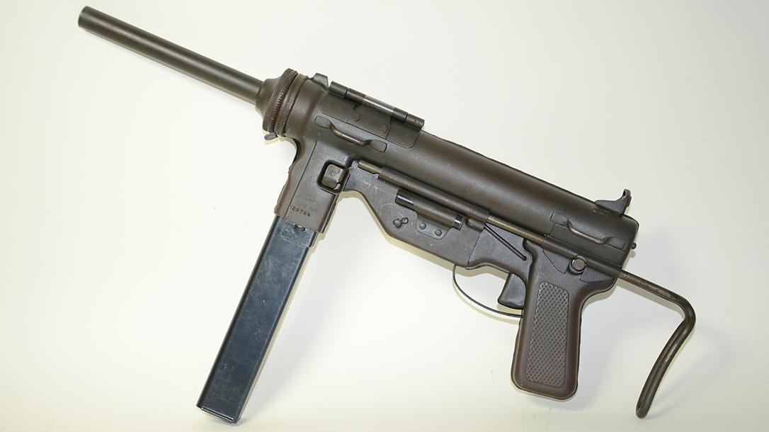 m3 m3a1 grease gun left profile