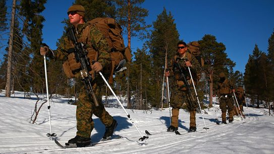 marine corps military ski system cross country