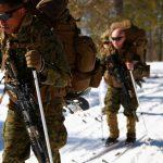 marine corps military ski system training