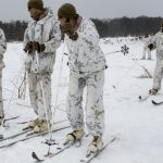 marine corps military ski system cold weather training