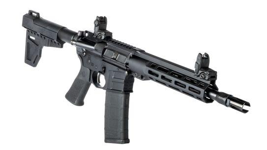 Savage MSR 15 Blackout pistol right angle