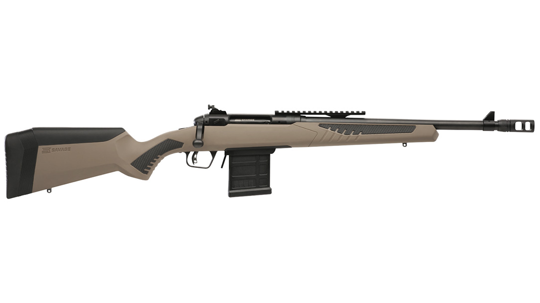 Savage MSR 15 model 110 scout rifle right profile