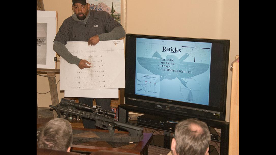 scoped carbine buck doyle classroom