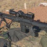 scoped carbine buck doyle carbine left angle