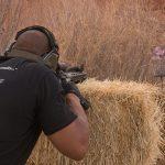 scoped carbine buck doyle hay bail shoot angle