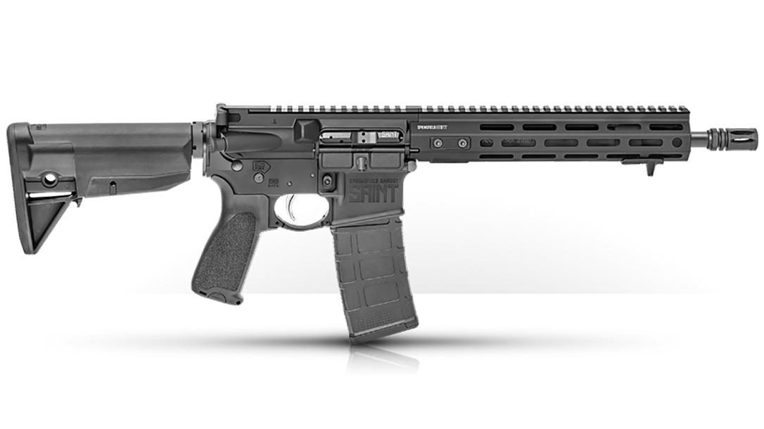 springfield saint sbr rifle right profile