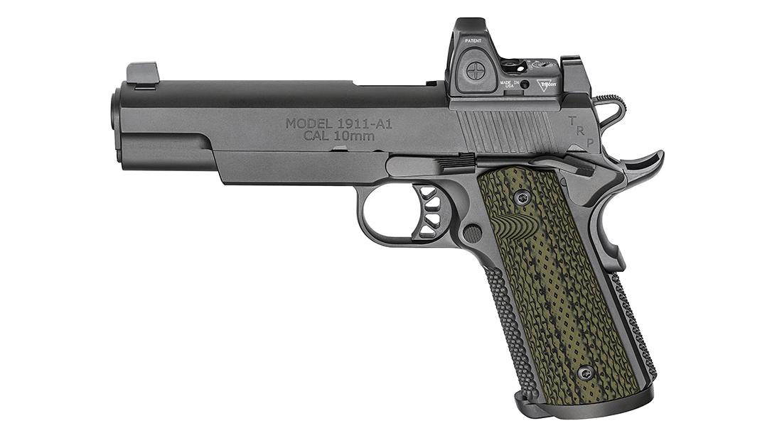 Springfield TRP RMR 10mm five-inch pistol left profile