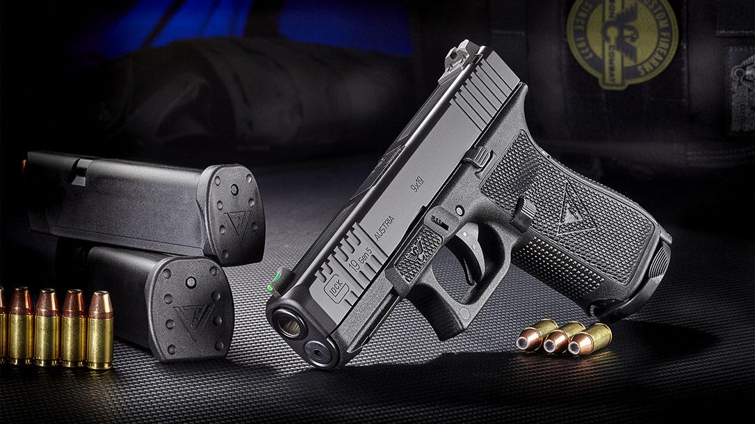 wilson combat vickers elite glock pistol beauty shot