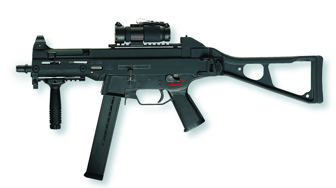 Army sub compact weapon, Heckler & Koch UMP left