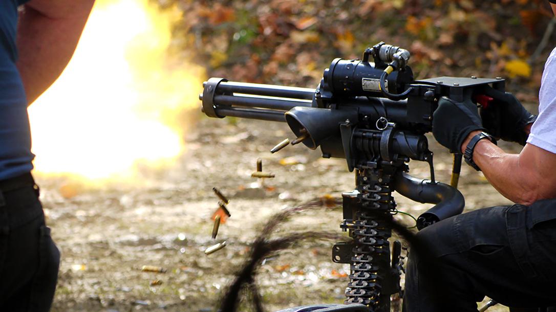 Knob Creek Machine Gun Shoot Kentucky gatling