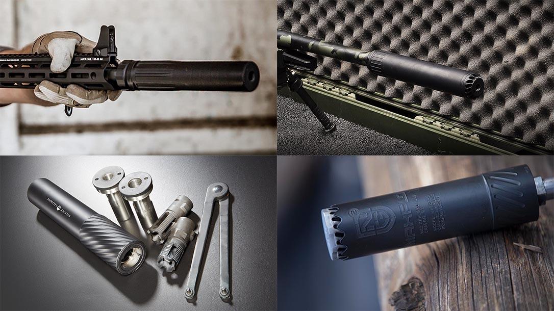 new rifle pistol suppressors
