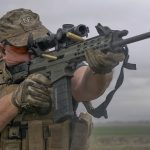 Robinson Arms XCR-M Rifle test, shooting, range