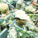 at armor rhodesian army camo rifles