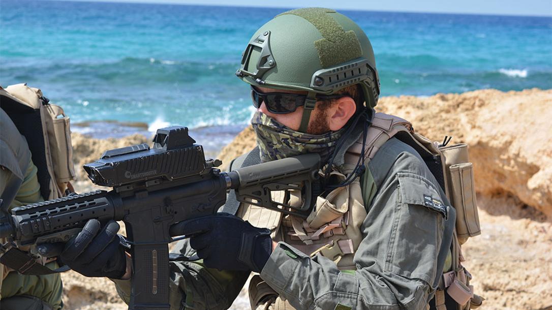 f90 smash rifle shooting