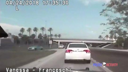 florida highway patrol car chase