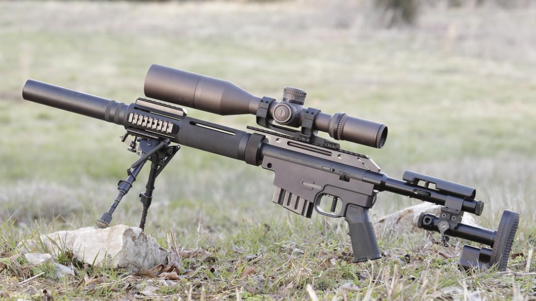 hunter cayll McMillan Alias CS5-T rifle left profile