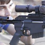 hunter cayll McMillan Alias CS5-T rifle shooting