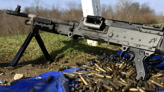 missing machine gun m240