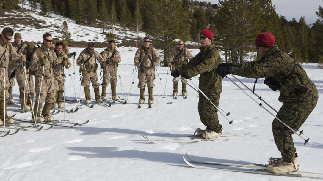 marine corps cold weather boots skiing
