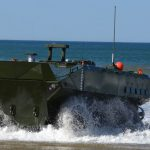 marines amphibious combat vehicle water