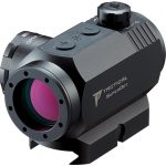 Nikon P-Tactical Superdot sight front left angle