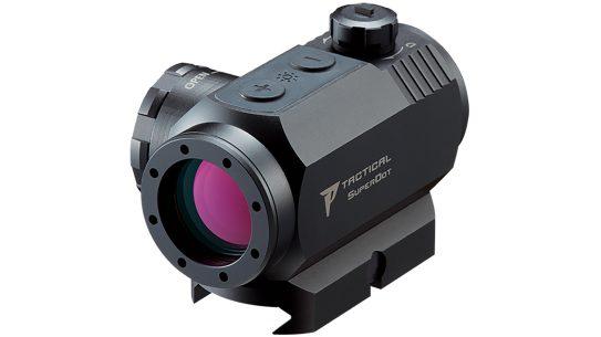 Nikon P-Tactical Superdot sight front left angle