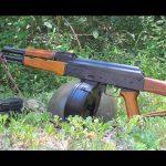 rpd rpk light machine gun left profile
