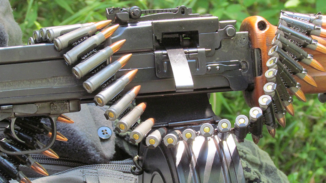 rpd rpk light machine gun feed