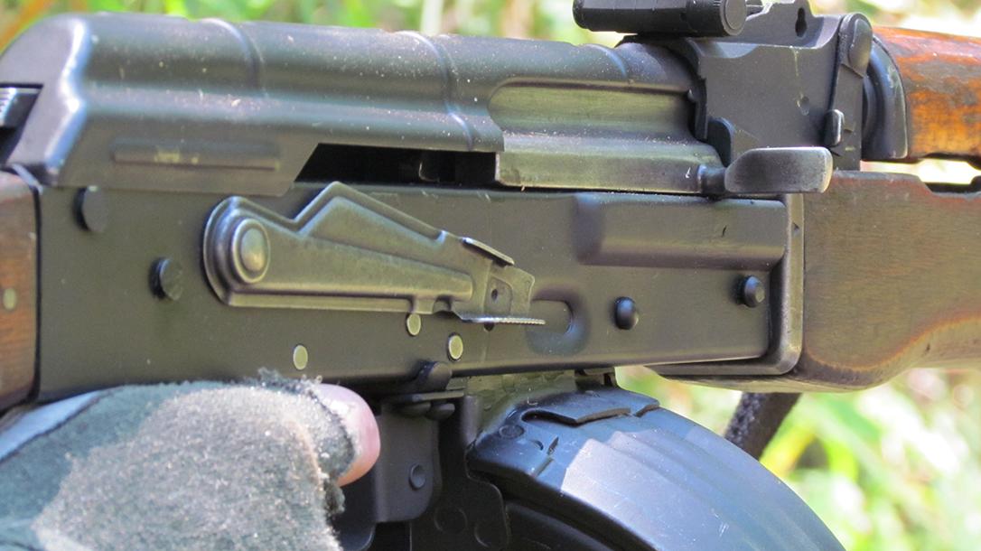 rpd rpk light machine gun safety