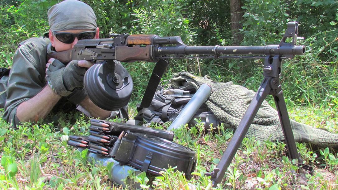 rpd rpk light machine gun