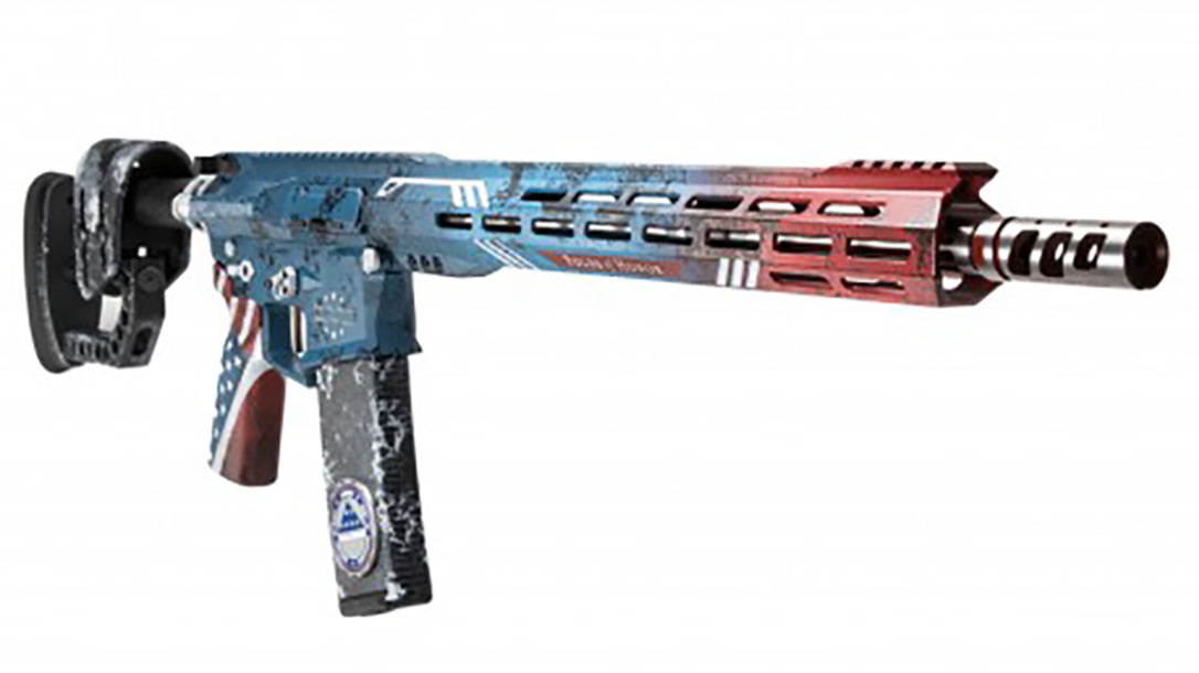 rise armament Patriot Rifle right front angle