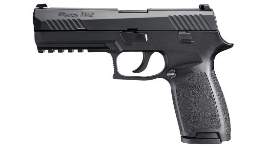 chicago police department sig p320 pistol left profile
