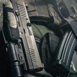 tampa police department sig p320 pistol closeup