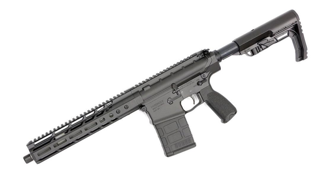 V Seven Harbinger rifle left profile