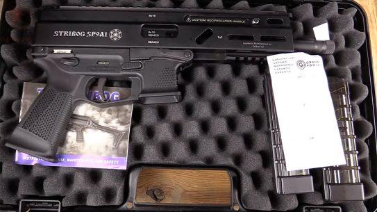 grand power stribog pistol