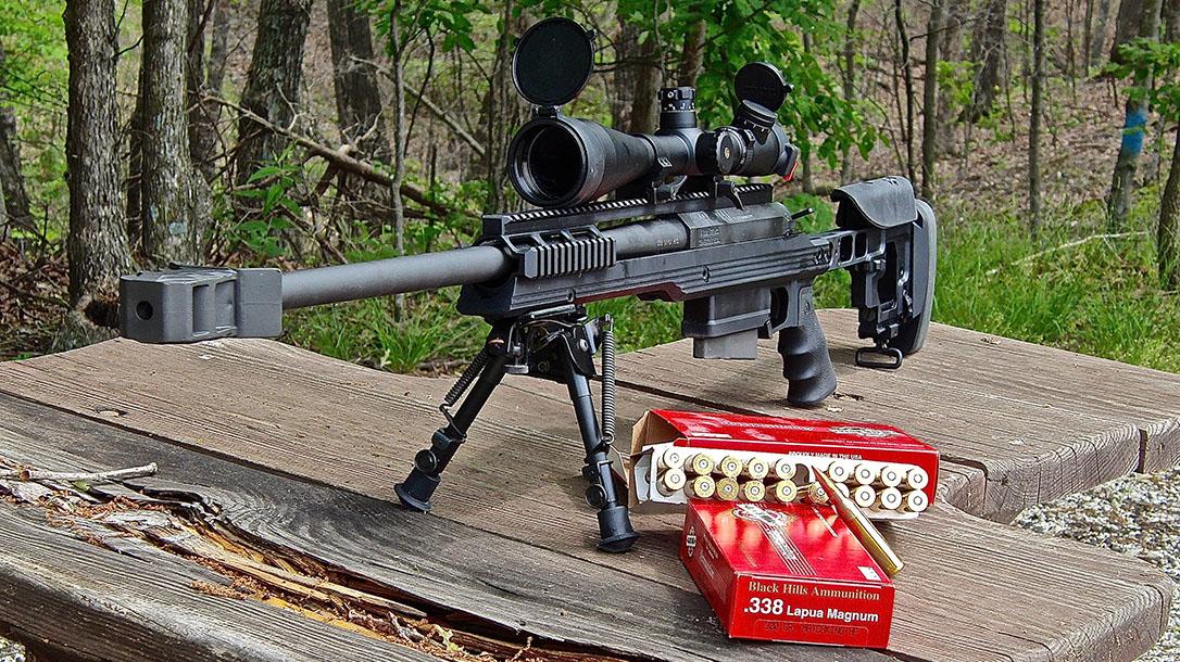 338 lapua magnum armalite ar-30a1 rifle