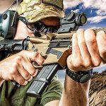 cmmg Mk57 guard pistol aiming