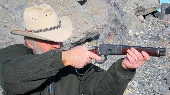 chiappa 1892 mare's leg rifle aiming