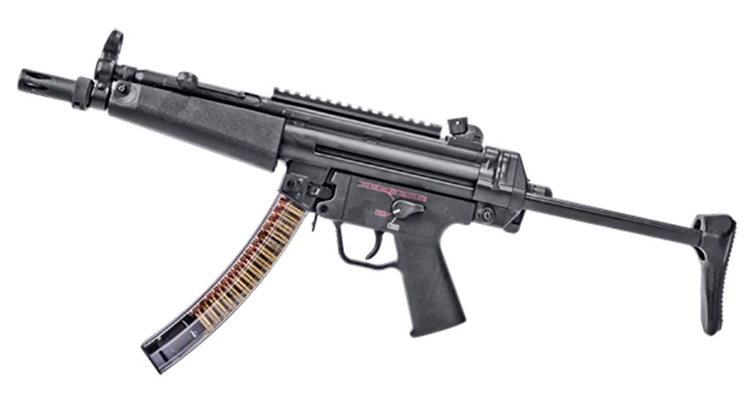 ets group hk mp5 magazine rifle left profile