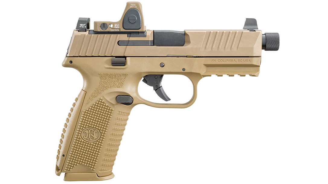 FN 509 Tactical pistol optic right profile