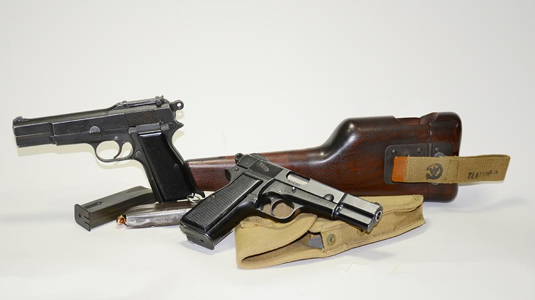 Inglis Hi-Power pistol variants