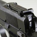 Inglis Hi-Power pistol rear sight